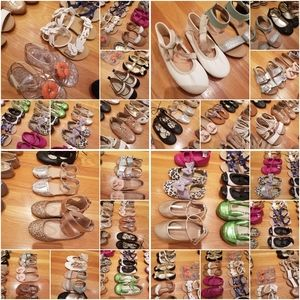 28 PAIRS! Girls Shoes & Sandals Bundle.